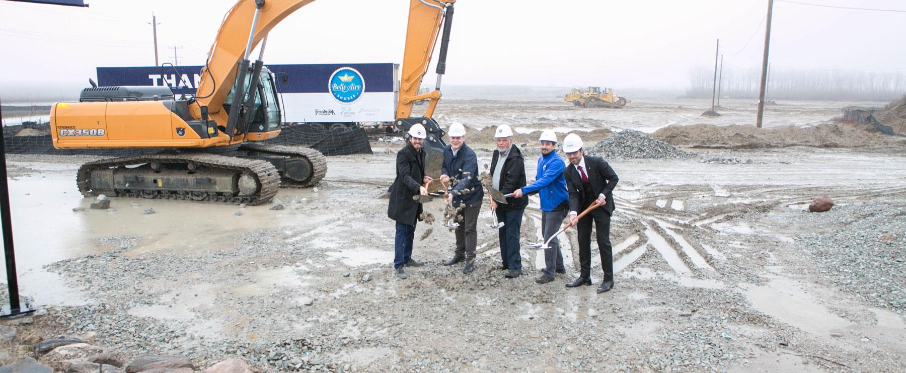 Innisfil's Mayor Celebrates the Groundbreaking of Belle Aire Shores!