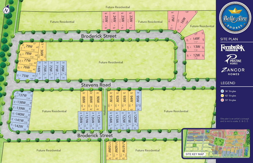 Belle Aire Site Plan Phase 3
