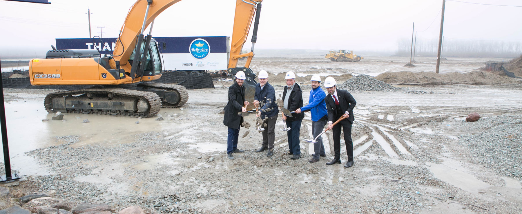 Innisfil's Mayor Celebrates the Groundbreaking of Belle Aire Shores!